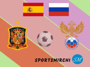 Spain vs Russia football rivalry