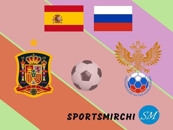 Spain vs Russia football rivalry