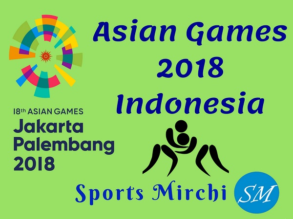 Asian Games 2018 Photo design by Sports Mirchi