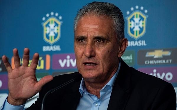 Brazil football team head coach Tite