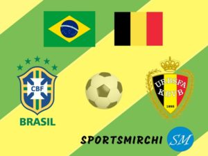 Brazil v Belgium football head to head