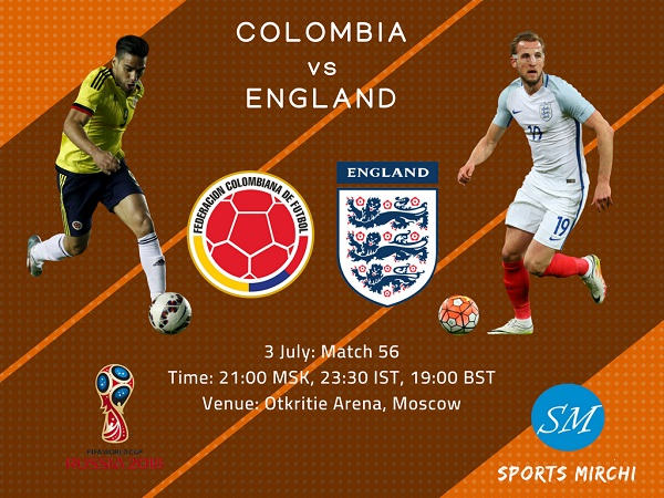 Colombia vs England 2018 world cup round of 16