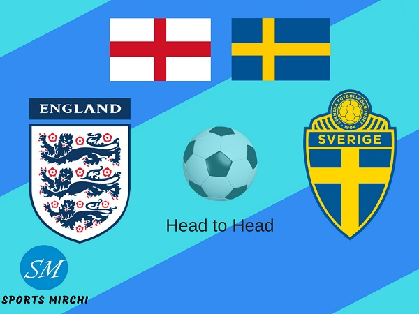 England vs Sweden football rivalry, record, h2h stats