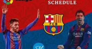 La Liga 2018-19: Barcelona Fixtures, Full Schedule, Dates