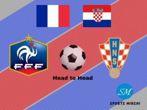 France v Croatia head to head football record