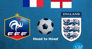England vs France Head to Head Football Rivalry