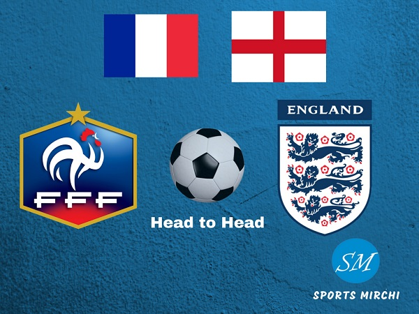 France vs England head to head football record