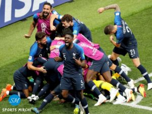 France won FIFA world cup beating Croatia in final