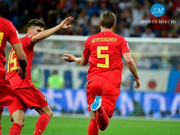 Jan Vertonghen scored first goal for Belgium against Japan in FIFA world cup 2018