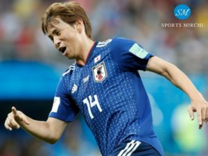 Takashi Inui scored 2nd goal for Japan against Belgium in 2018 world cup