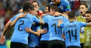 Uruguay beat Portugal to face France in world cup quarterfinal 2018