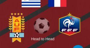 Uruguay vs France Head to Head Football Rivalry