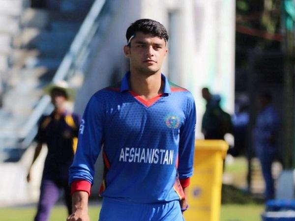 Afghanistan cricketer Naveen-Ul-Haq