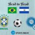 Brazil vs El Salvador Head to Head Football Rivalry