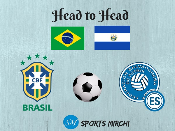 Brazil vs El Salvador Football head to head record