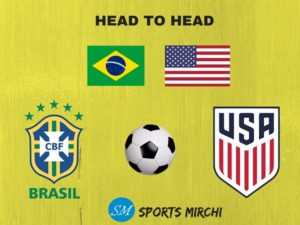 Brazil vs USA international football head to head record