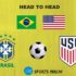 Brazil vs USA Head to Head Football Rivalry