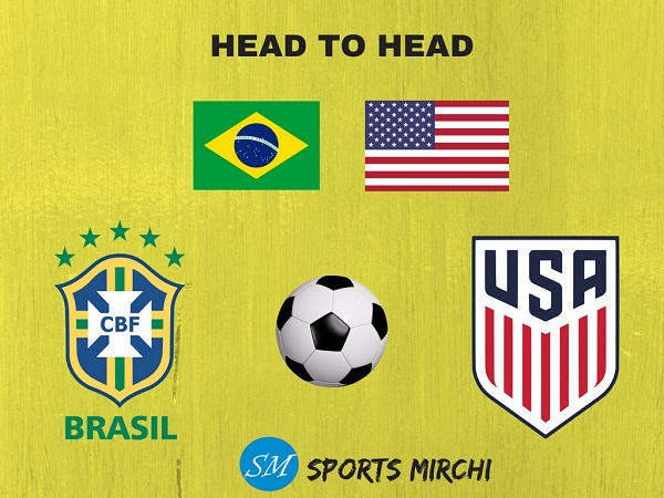 Brazil vs USA international football head to head record