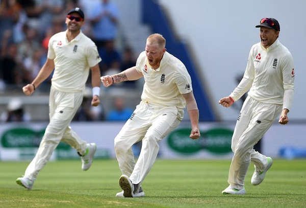 England won first test by 31 runs against India in Edgbaston