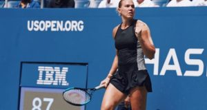 Kaia Kanepi knockout World No. 1 Halep in US Open 1st round