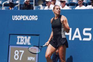 Kaia Kanepi beat Simona Halep in 1st round of 2018 US Open