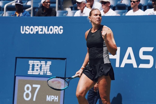 Kaia Kanepi beat Simona Halep in 1st round of 2018 US Open
