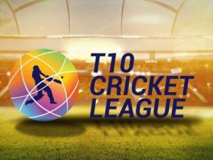 T10 Cricket League Logo