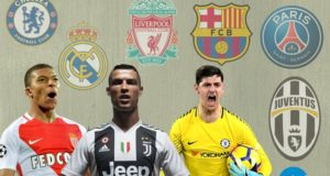 List of Top 25 Football Players Transfers 2018/19