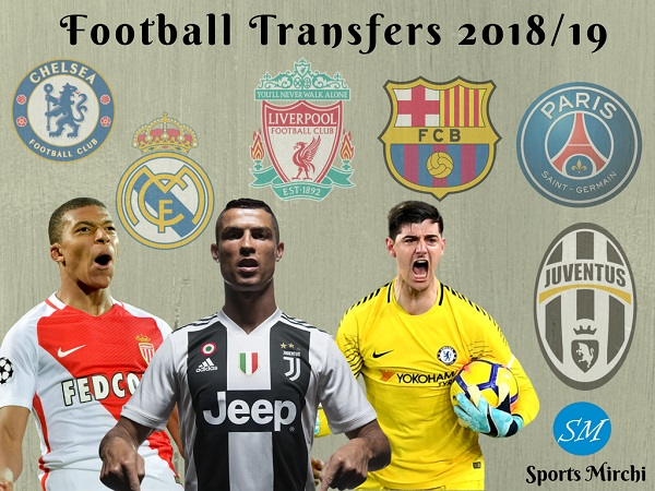 Top football transfers 2018-19 season