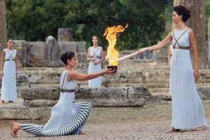 2020 Olympic games torch relay schedule, theme, dates