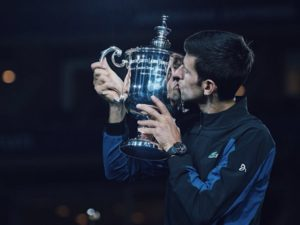 Novak Djokovic 3rd US Open in 2018