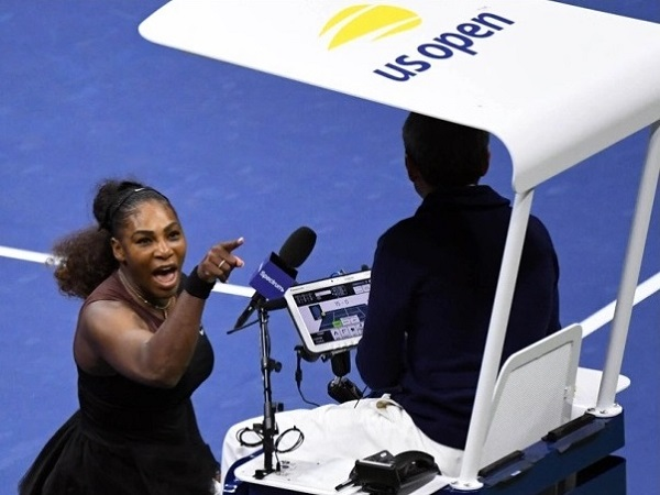 Serena abuse chair umpire during US Open 2018 final