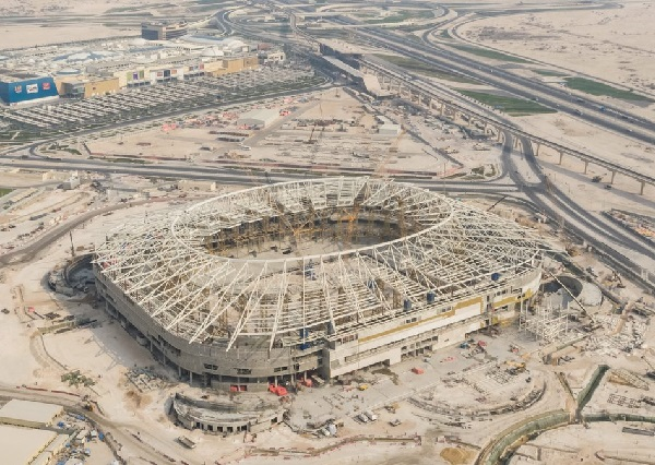 Al Rayyan Stadium in progress stage for 2022 world cup