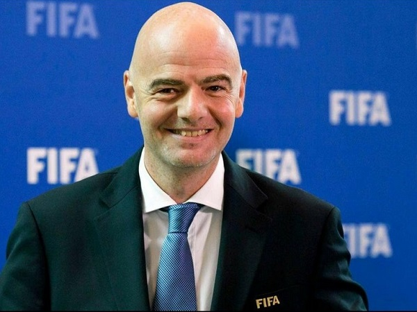 FIFA President Gianni Infantino photo by sportsmirchi