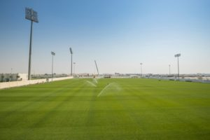 Training site prepared for FIFA world cup 2022 Qatar