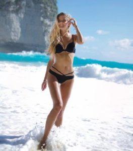 Alicia Schmidt hot beach photo