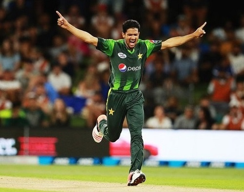 Amir Yamin fast bowler from Pakistan