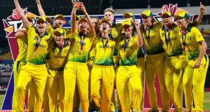 Australia thrashed England to win 4th women's t20 world cup