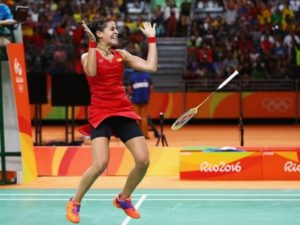 Carolina Marin a gold medalist winner in Olympic Games