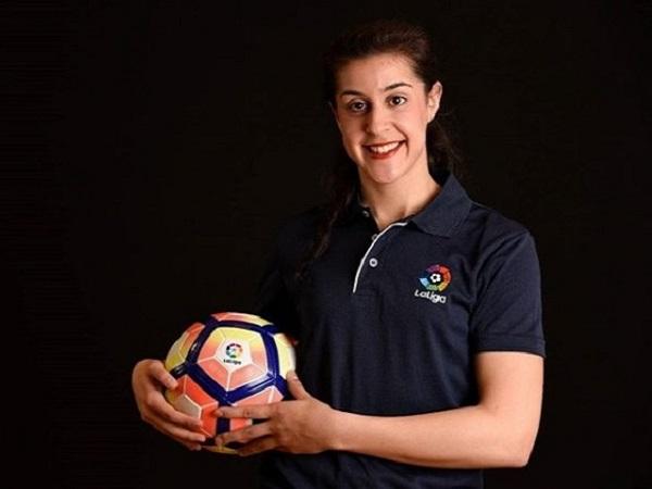 Carolina Marin brand ambassador of La-Liga
