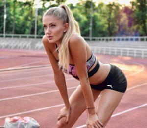 Germany runner athlete Alicia Schmidt