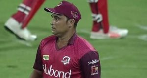 47-year old Pravin Tambe first bowler to take 5-wickets in T10 cricket