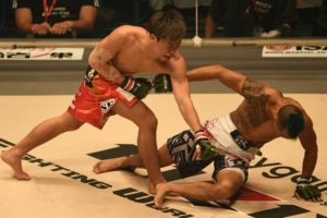 Tenshin Nasukawa fight style is southjaw