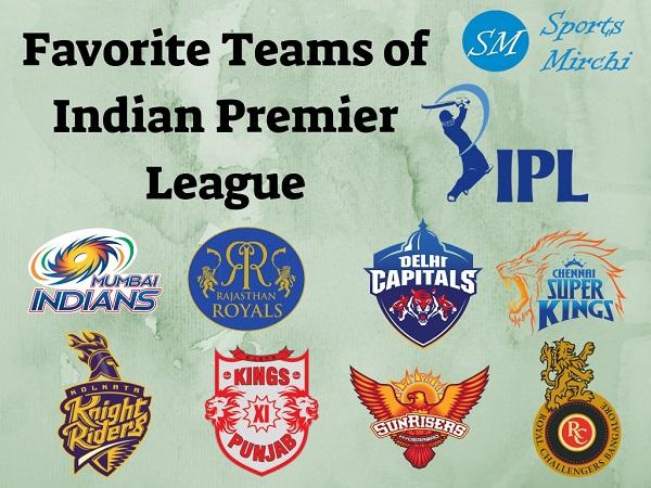 IPL Favorite Teams