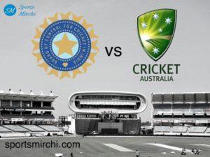 India vs Australia cricket series logo