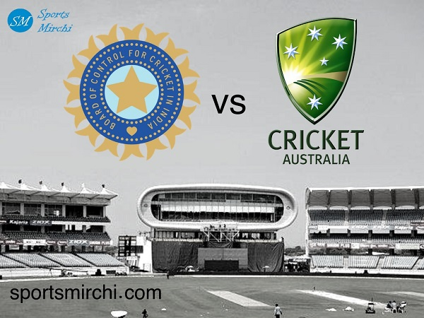 India vs Australia cricket series logo