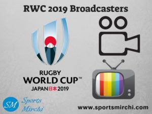 Rugby World Cup 2019 TV Channels, Telecast