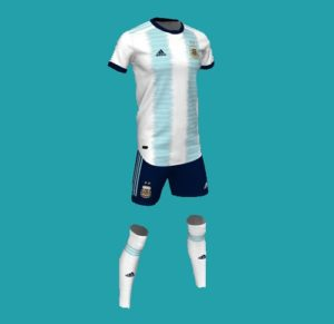 Argentina kit for Copa America 2019