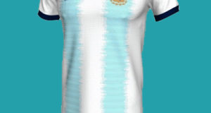 Argentina football team kit for 2019 Copa America Leaked