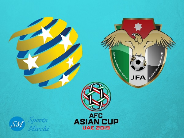 Australia vs Jordan 2019 Asian Cup football match